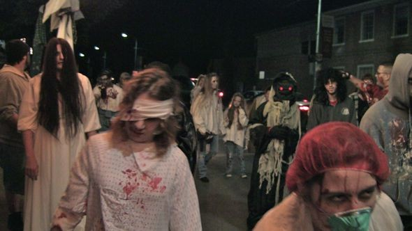 The ninth annual Zombie Walk will be held Saturday, Oct. 28.