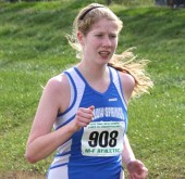 Lois Miller became the fastest female cross-country runner in YSHS history at the state finals in November, demolishing a 17-year-old school record by nearly 10 seconds.