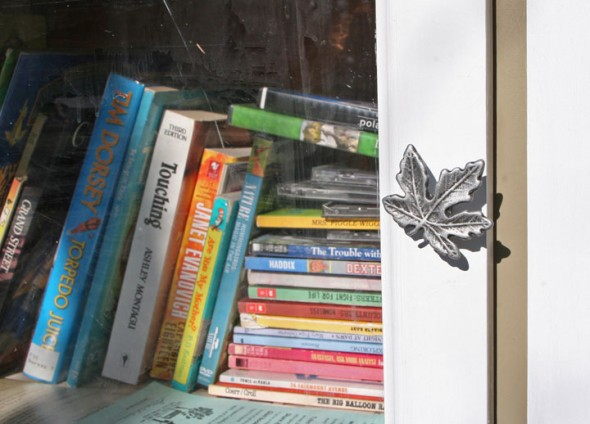 A new Little Library on Dayton Street. (photos by Suzanne Ehalt)