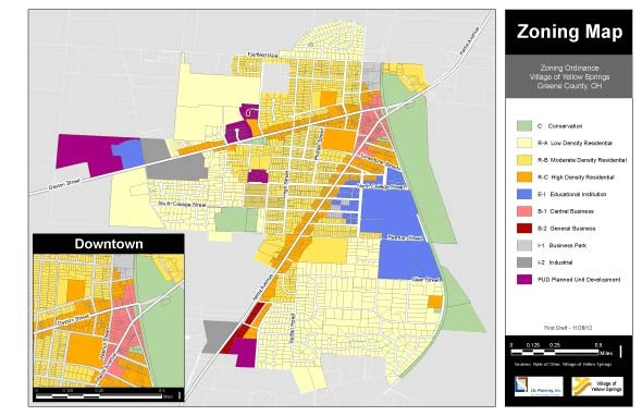 To see a larger version of the revised zoning map, please click on the link below at the end of the article.