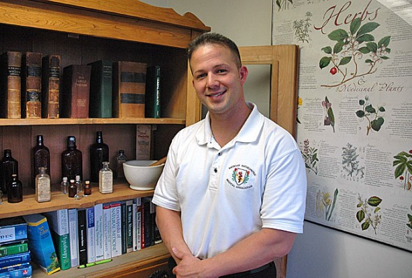 Herbalist and iridologist Eric Rodriguez will speak at an open house event at The Culpeper House. Attendees can receive a $10 gift certificate to The Culpeper House by bringing donations for area domestic violence shelters.