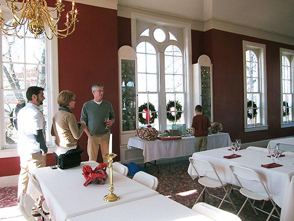 upper room at the Garden Gate