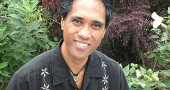 Local holistic health practitioner Virgil Mayor Apostol, who has been practicing massage, manual medicine and spiritual healing locally since the fall, will teach a free workshop series on Filipino healing practices at the library this month. The workshops kick off with a lecture on the healing traditions of Phillipines at 6 p.m. on Wednesday, Feb. 13 in the meeting room of the Yellow Springs Public Library. (Photo by Megan Bachman)