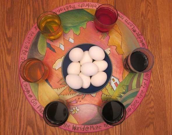 Egg Dye Prep