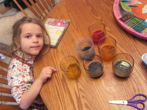 fizzing Dye Colors