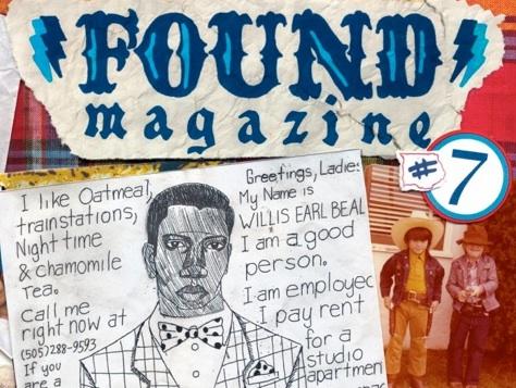 found magazine