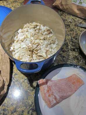 prep the fish