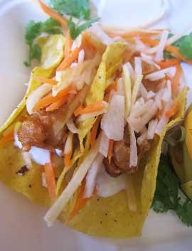 Harvest taco