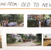 On September 21, 1997 the congregation of the First Baptist Church walked from their original church at the corner of Xenia Ave. and Whiteman Dr. to their current location at Dayton St. and King St. This weekend they celebrated their 150th anniversary. (photos by Suzanne Szempruch)