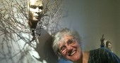 """Local sculptor Alive Robrish's new show, """"Who are We?"""" will open at the Yellow Springs Arts Council Gallery on Corry Street on Friday, June 14. (Photo by Anisa Kline)"""