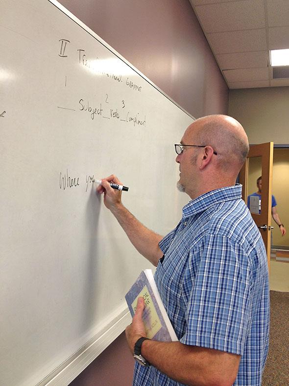 Author/Instructor Greg Belliveau