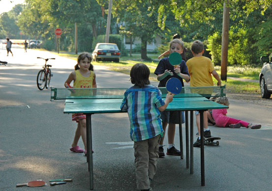 Yellow Springs feature photo: Playing in the street