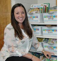 Jessica Liming, third grade teacher.