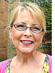 Village Finance Director Sharon Potter is taking early retirement, and her last day will be Friday, Aug. 30. (Photo by Megan Bachman)