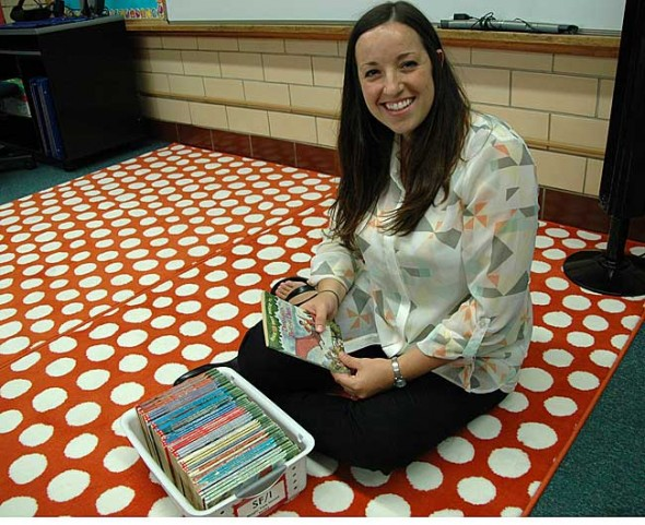 New Mills Lawn teacher Jessica Liming is gearing up to facilitate a lot of reading in her third grade class this year.
