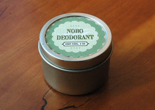 An organic, locally made deoderant that works is now available for retail in the village.