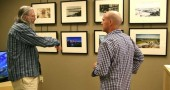 "Yellow Springs local, ________ talked with photographer Andy Snow at the gallery opening of ""Then & Now"" on Saturday."
