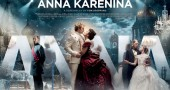 The 2012 movie poster for Anna Karenina, which will be playing this week at the Senior Center.