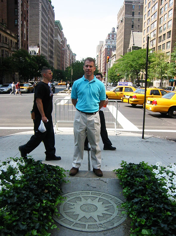 Jeremy during our first New York City Visit