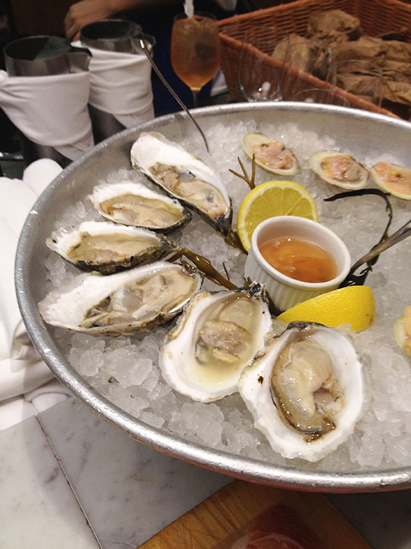 oysters and littlenecks