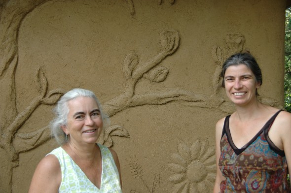 Saturday, September 7th and Sunday September 8th Beth Holyoke and Käthi Seidl will be hosting a hands-on straw bale and earthen plaster workshop at the Antioch Farm.
