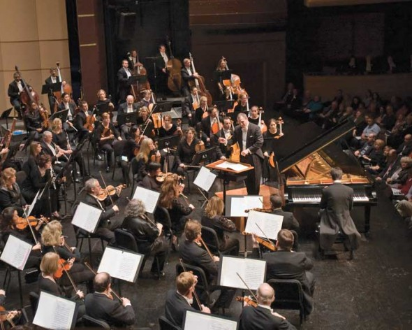The Dayton Philharmonic Orchestra in 2010 when they celebrated their 75th anniversary.