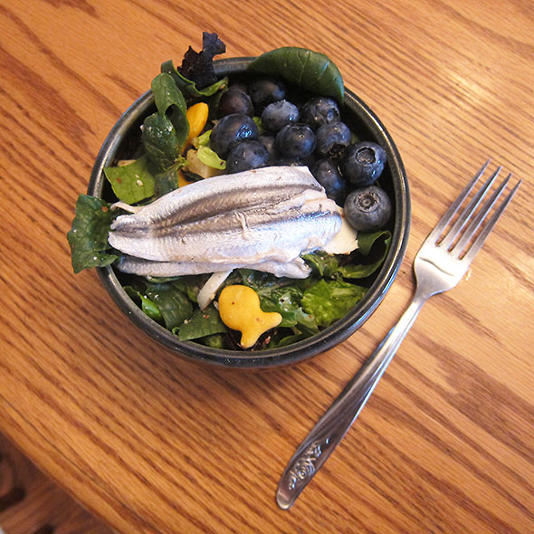 anchovyBlueberrySalad