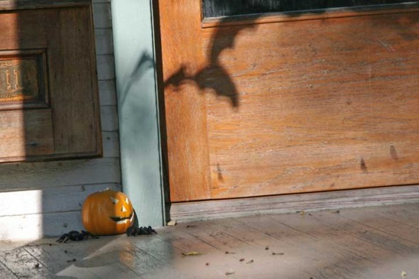 This Xenia Avenue front porch is ready for Halloween, which is over a week away.