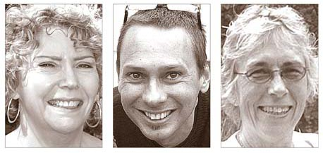 Karen Wintrow, Brian Housh and Marianne MacQueen (submitted photos)