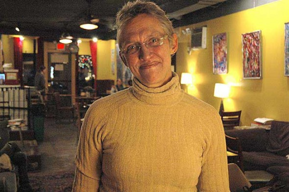 Judith Hempfling's eight-year tenure on Village Council ended this month when her term expired. Hempfling, who was Council president since 2007, said her greatest accomplishments were securing renewable energy contracts, supporting Antioch College and promoting democracy in the village by leading a strong Council that responded to its citizens. (Photo by Megan Bachman)