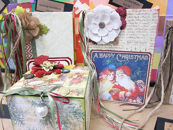greeting card albums