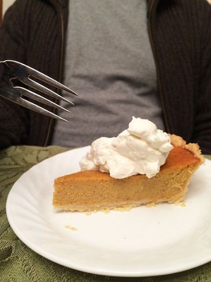 pumpkin pie by niece