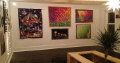 The Jailhouse Gallery's first show features work by Clifton and Yellow Springs artists.