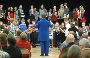 Mills Lawn School band and orchestra concert