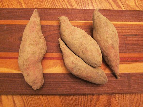 sweet potato brown