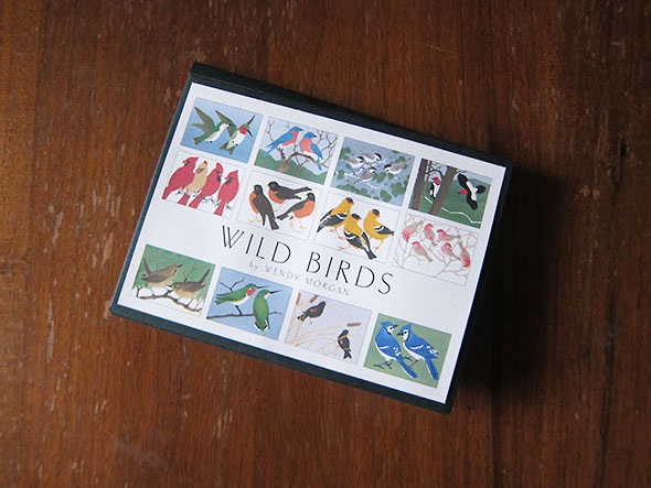 wild birds gift packaging