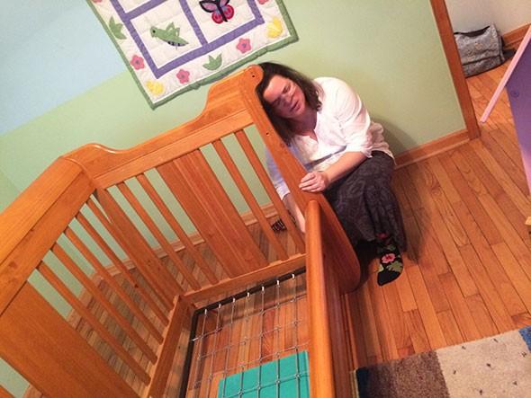 dismantling crib