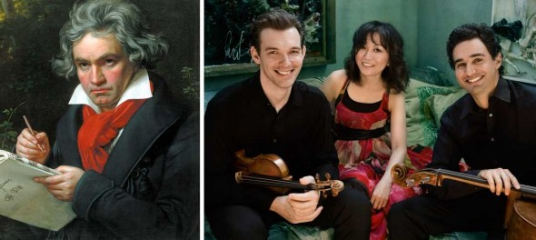 Beethoven will be preformed by the Yellow Springs Chamber Orchestra and Community Chorus this Saturday and the Horszowshi Trio is coming to town on Sunday.