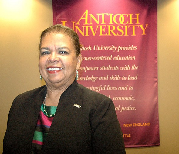 Karen Schuster Webb is the new president of Antioch University Midwest.