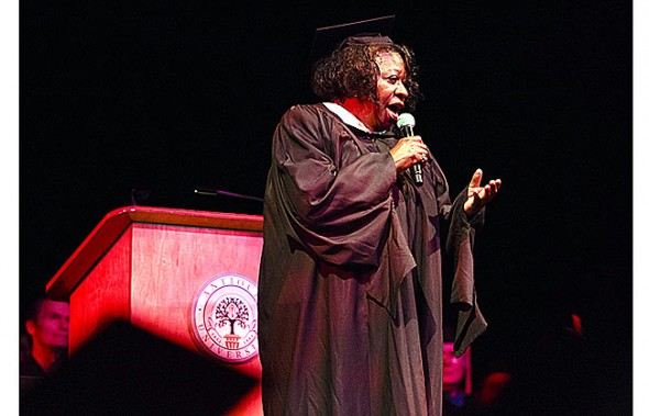 Midwest graduate Vernetta Willett will perform at Friday's event.