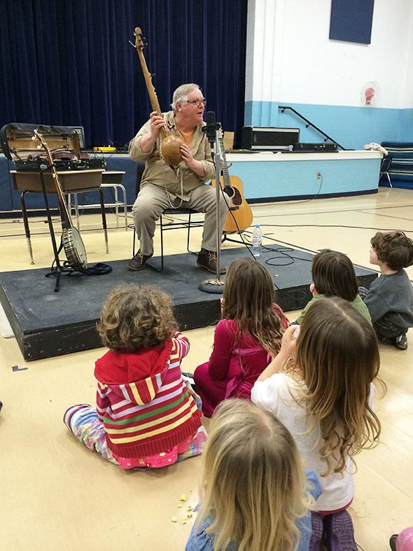 a lesson in banjo history