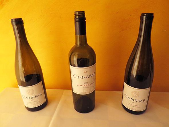 Cinnabar wines