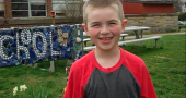Mills Lawn third-grader Dane Beal is on a quest to raise funds for new trees for the school's grounds.