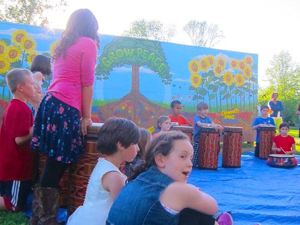 Grow Peace Mural