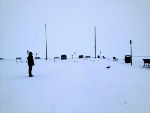 Anthony observes the frozen desolation of one of America's Great Lakes, and wonders what cosmic mistake he could possibly have made to wind up here.