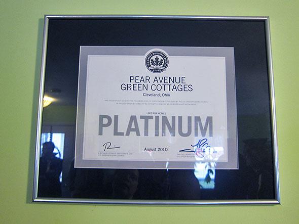 platinum efficiency rating