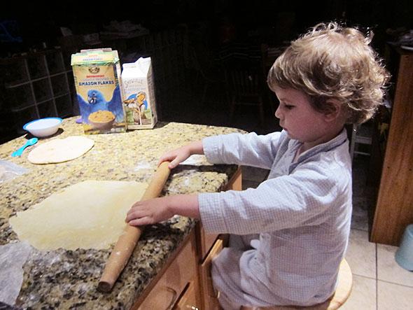 serious dough rolling