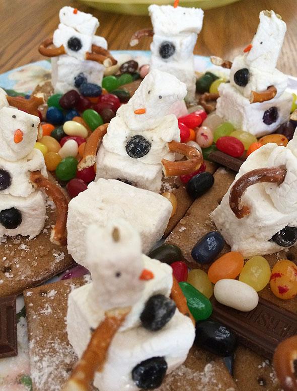 marshmallow men