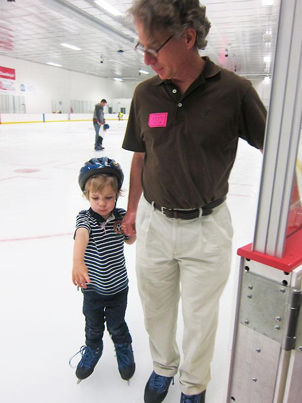 new skater, seasoned skater