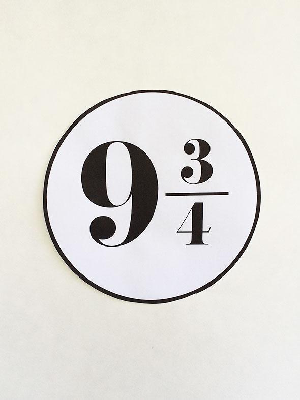 platform number